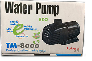 Jebao ECO Pump TM8000 65W Aquarium Submersible Pump Fit for Marine Freshwater Fish