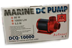 Marina DC pump Jebao DCQ 10000 80W - 10000L/H